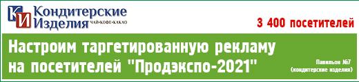 """Рекламная кампания на посетителей выставки  """"Продэкспо - 2021"""""""